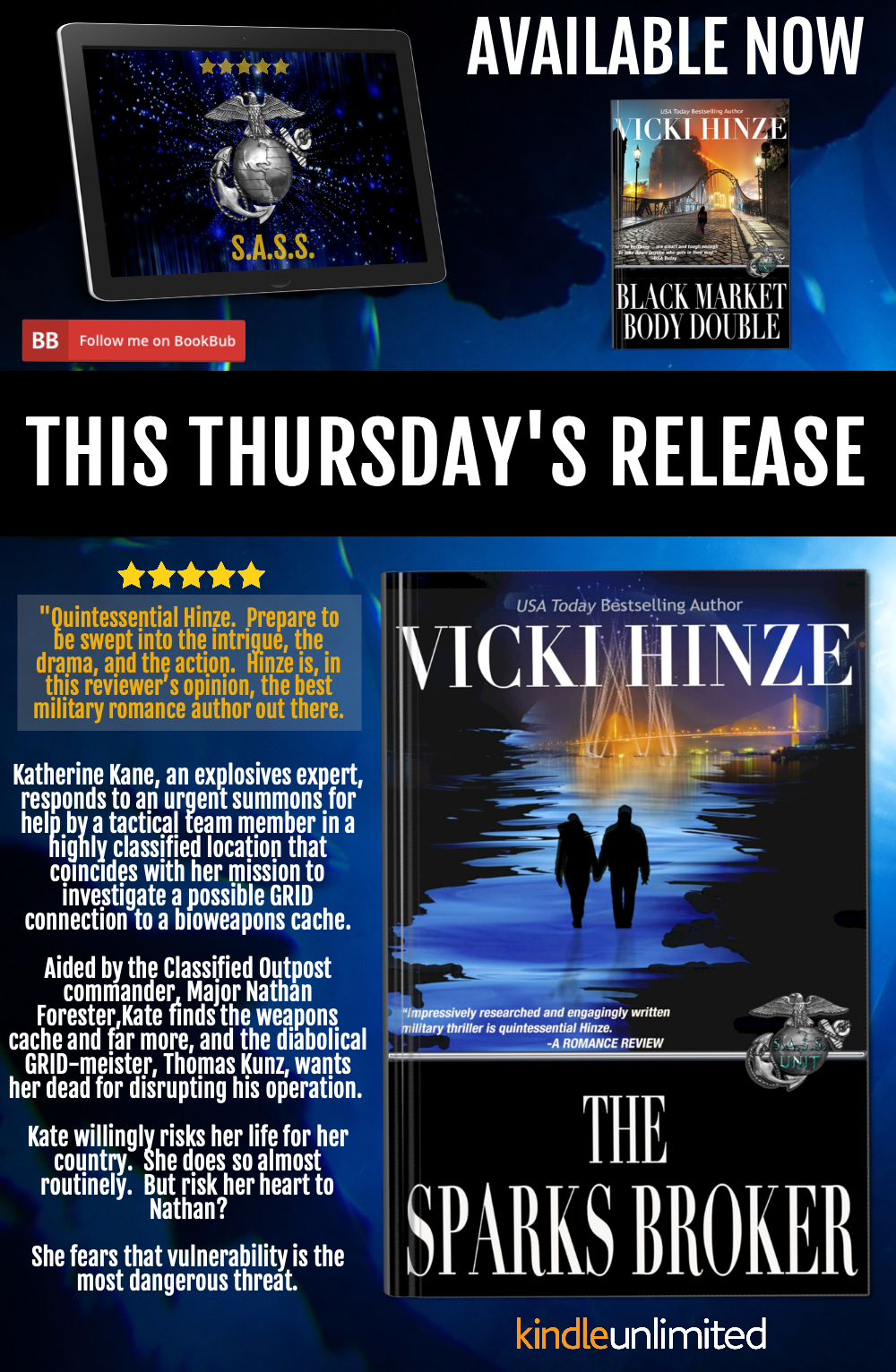 The Sparks Broker, Vicki Hinze, S.A.S.S.SERIES