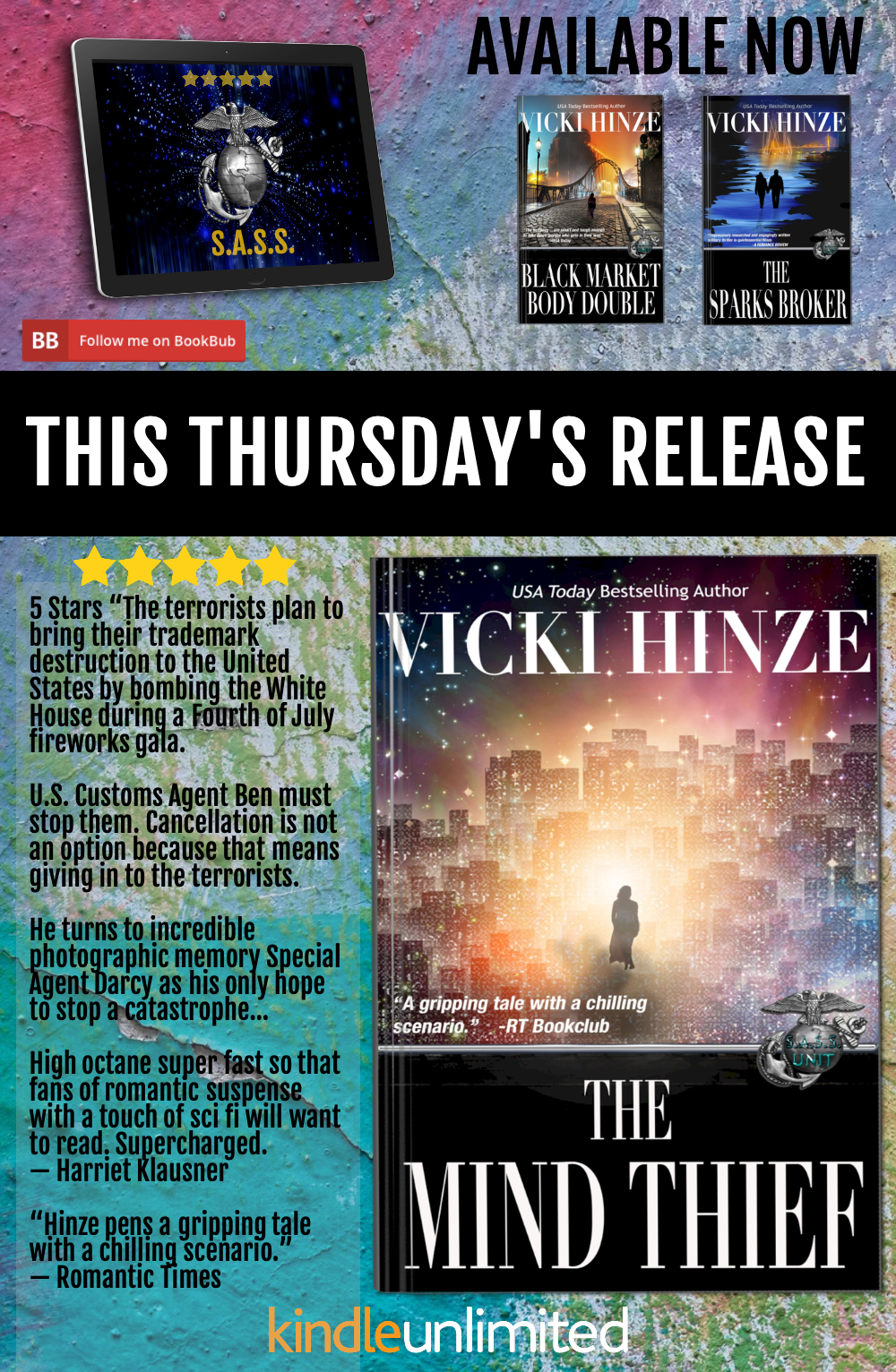 The Mind Thief, Vicki Hinze, S.A.S.S. series