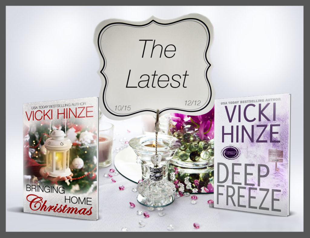 Vicki Hinze, new books, news