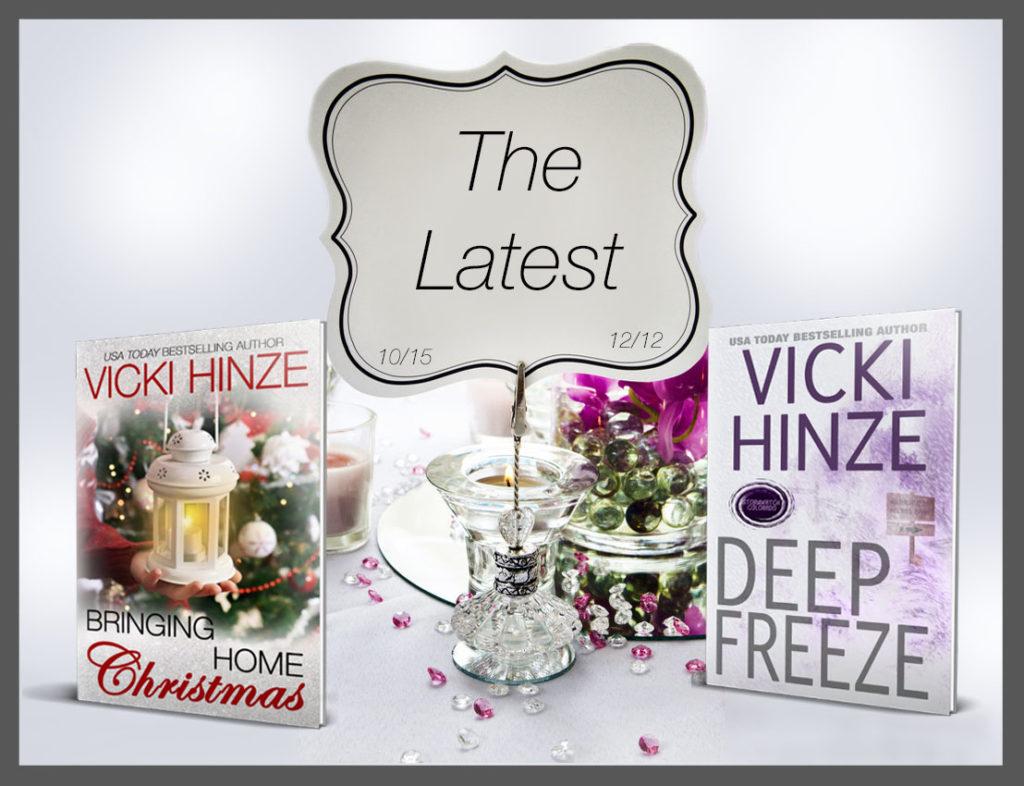 Vicki Hinze, new books, news