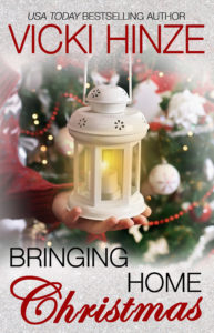 Bringing Home Christmas, Vicki Hinze, Bestselling Author Fiction, heartwarming romance, clean read