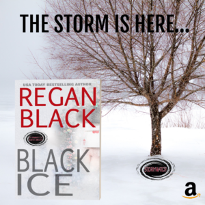 Regan Black, Black Ice, Stormwatch, Vicki Hinze