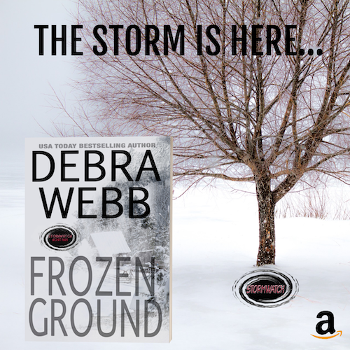 The Storm Roars Into Montana in Debra Webb's Frozen Ground