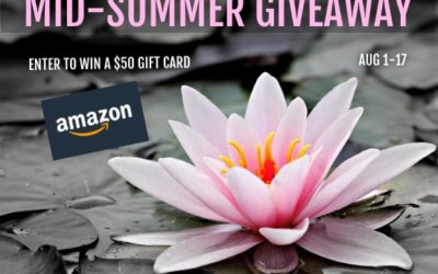 Mid-Summer Giveaway:  Enter to Win $50 Gift Card