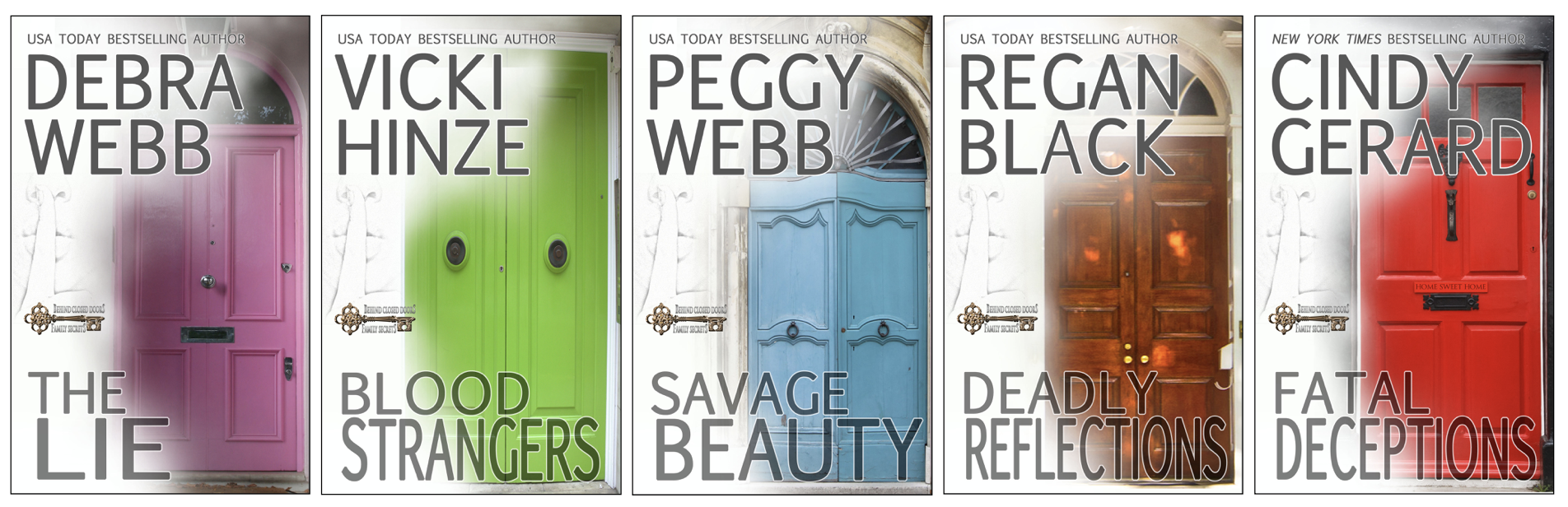 Behind Closed Doors, Family Secrets, Debra Webb, Vicki Hinze, Peggy Webb, Regan Black, Cindy Gerard