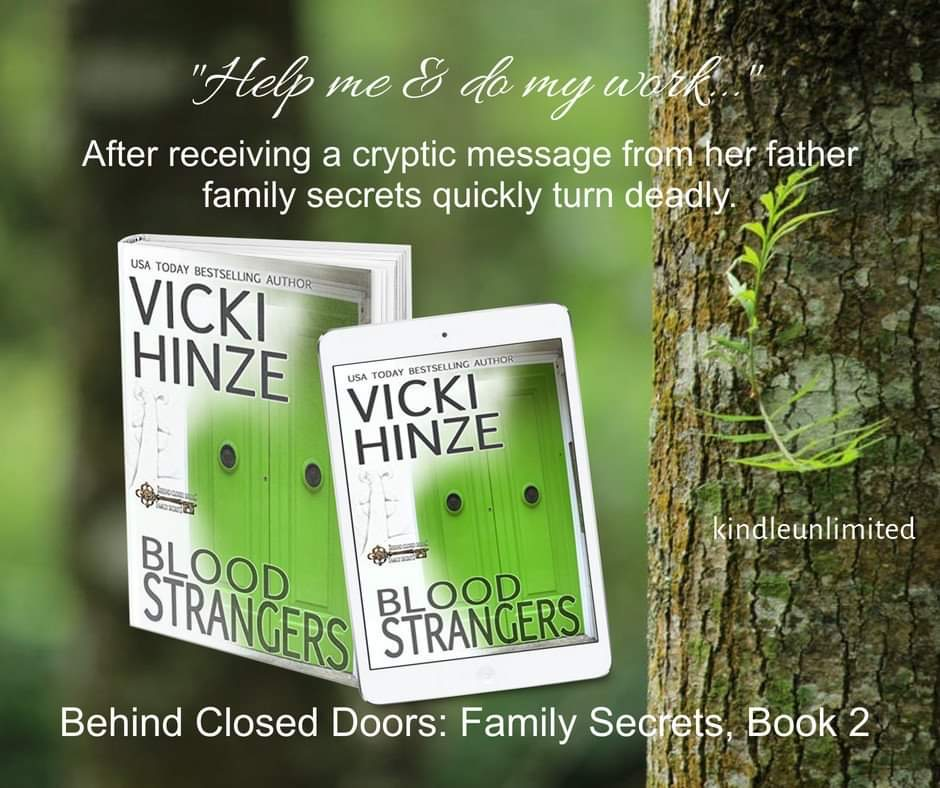 Blood Strangers, Vicki Hinze