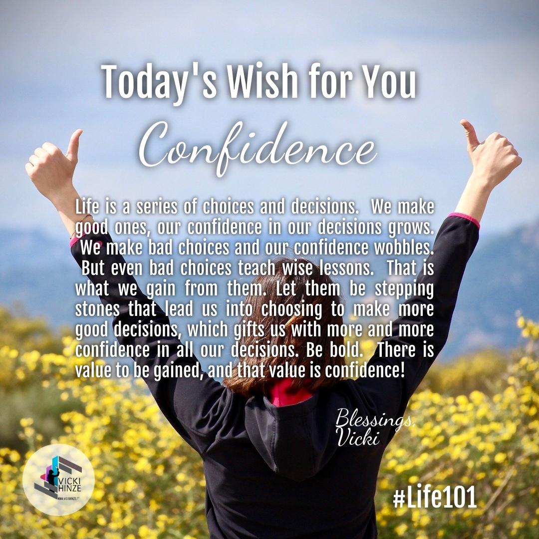 wish for you, vicki hinze