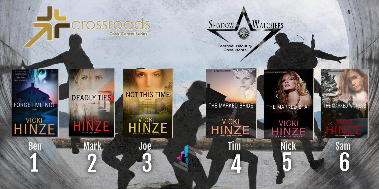 Shadow Watchers, Crossroads Crisis Center series, Vicki Hinze