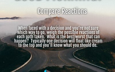 Morning Wishes:  Compare Reactions
