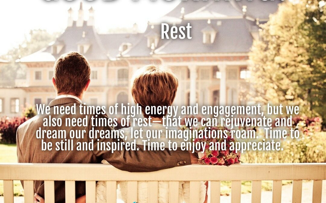 Morning Wishes:  Rest